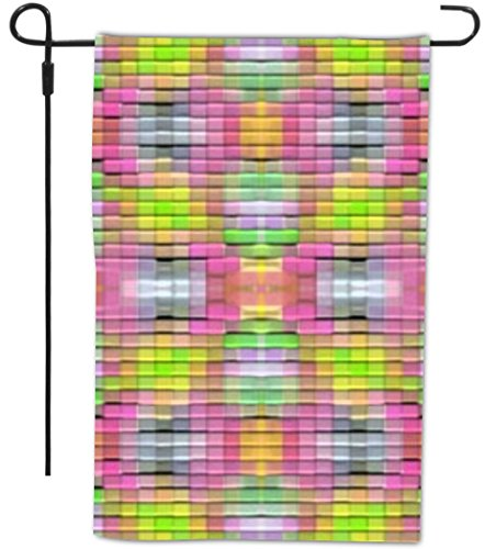 Rikki Knight Pink & Green Mosaic Design Decorative House ...