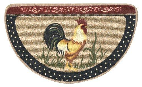 - Bacova Guild Cocka Doodle Doo Berber Kitchen Slice Rug