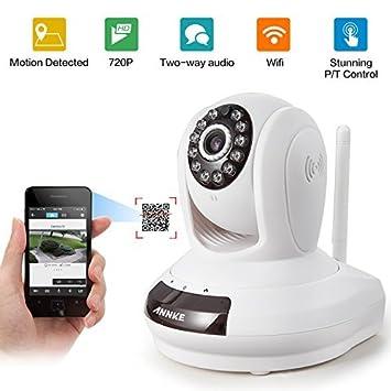 annke Motorised Wireless Indoor IP Surveillance Camera: Amazon.co.uk ...