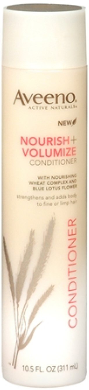 Aveeno Nourish+ Volumize Lightweight Conditioner, 10.5 fl. oz