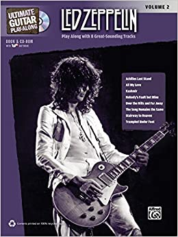Ultimate Guitar Play-Along Led Zeppelin, Vol 2: Authentic Guitar ...