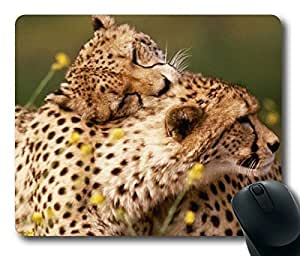 Affectionate Cheetahs Animals Universe Masterpiece Limited Design Oblong Mouse Pad by Cases & Mousepads