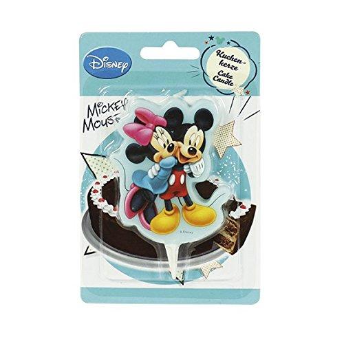 Dekoback 01 - 14 - 00741 Vela para Tartas Mickey Mouse 2D ...