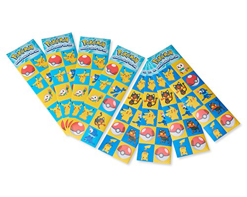 American Greetings Pokémon 8-Count, Sticker Sheets -