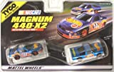 #34018 Tyco Electric Racing Nascar Magnum 440-X2 Nascar Hot Wheels Stock Car and Pick-up Slot Cars