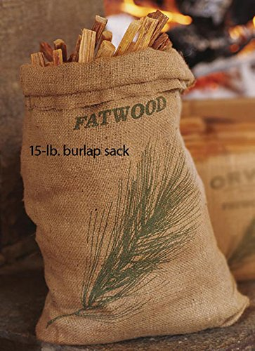 Orvis Fatwood - 15-lb. Burlap Sack