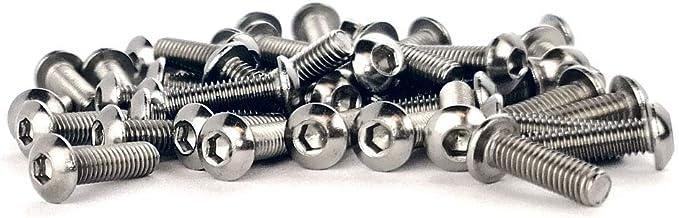 Vis /à m/étaux T/ête Bomb/ée Six Pans Creux Acier Inox ISO 7380-1 x10 M5x10