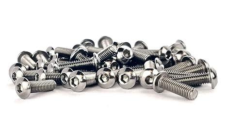 50 Stück  Linsenkopf ISO 7380 TORX M4x10 EDELSTAHL A2  M4 x 10