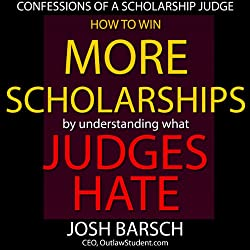Confessions of a Scholarship Judge