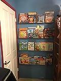 NIUBEE Kids Acrylic Floating Bookshelf 16.5