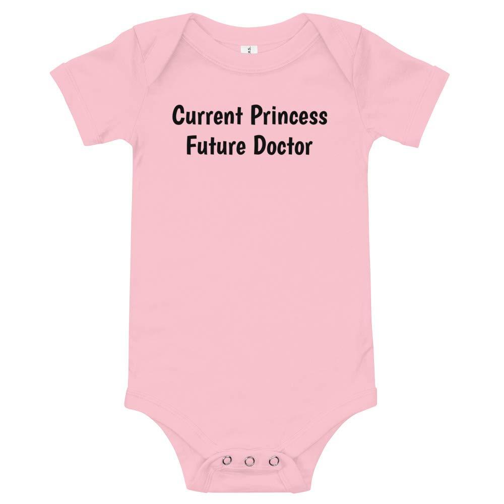 Current Princess Baby Onesie Future Doctor