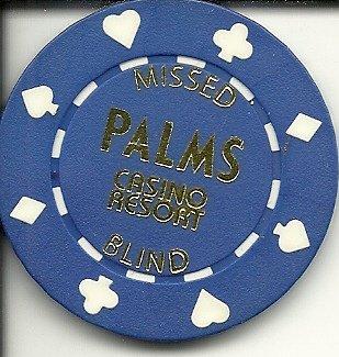 Palms missed blind las vegas casino chip rare