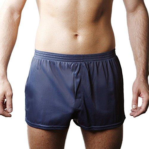 Navy Blue Boxer Shorts - 5