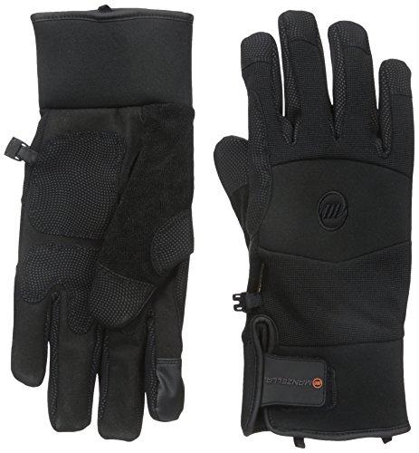 Manzella Men's Ranch Hand Touch Tip Gloves, Medium, Black -
