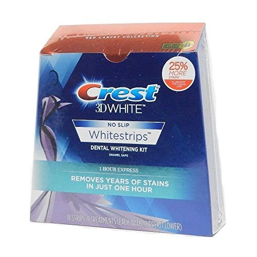 Crest 3d Whitestrips 1 Hour Express, 9 Treatments, 0.1 Pound