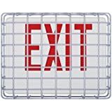 Safety Technology  International STI-9640 Exit Sign Damage Stopper, Protective Coated Steel Wire Guard