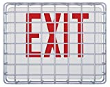 Safety Technology International, Inc. STI-9640 Exit Sign Damage Stopper, Protective Coated Steel Wire Guard