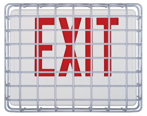 Safety Technology International, Inc. STI-9640 Exit Sign Damage Stopper, Protective Coated Steel Wire -