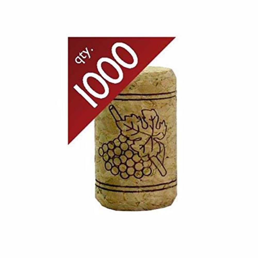 Image of #9 Straight Corks 15/16' x 1 1/2'. Bag of 1000 Home and Kitchen