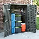 outdoor vertical storage cupboard