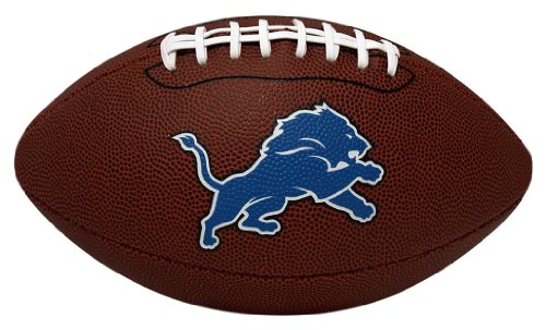 NFL Game Time Full Regulation-Size Football Detroit Lions Football