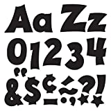 TREND enterprises, Inc. T-79802 Black 4'' Friendly Combo Ready Letters