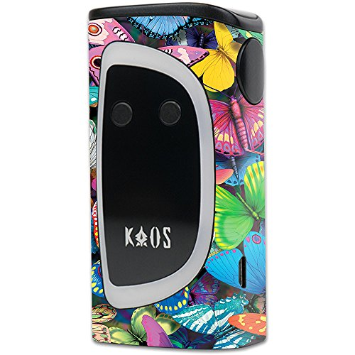 MightySkins Skin Compatible with Sigelei KAOS Spectrum Kit - Butterfly Party | Protective, Durable, and Unique Vinyl Decal wrap Cover | Easy to Apply, Remove, and Change Styles | Made in The USA