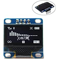 0.96 Inch White I2c IIC Serial Oled LCD LED Module 12864 128X64 for Arduino Raspberry Pi Stim32 SCR WIshioT