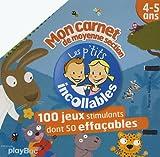 Mon carnet de moyenne section 4-5 ans : 100 jeux stimulants dont 50 effaçables