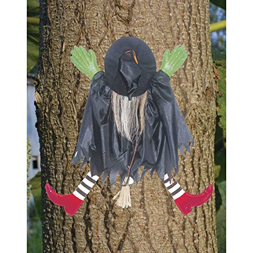 Tree Trunk Witch w/Red Shoes - ST -