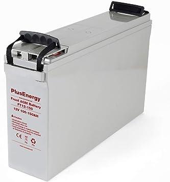 12v PlusEnergy TPG250 descarga muy profundo Bater/ía 250Ah solar GEL 250Ah