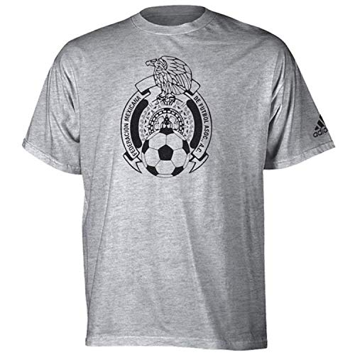 (adidas Performance Men's MLS World Cup Soccer BAR None TEE (Small, Mexico Black))
