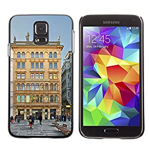 Hot Style Cell Phone PC Hard Case Cover // M00169579 Vienna Austria City Urban Buildings // Samsung Galaxy S5 S V SV i9600 (Not Fits S5 ACTIVE)