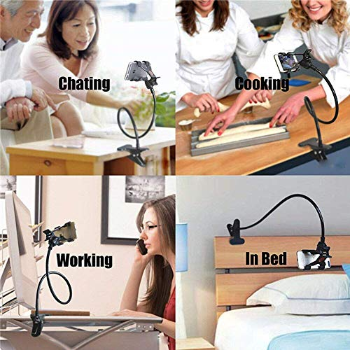 Alfa Mart Multicolor Snake Holder & 360 Degree auto Adjustable Lazy Hanging Mobile Phone Strong and Durable Stand or Holder Compatible with All Smartphones Multipurpose for Table/Bed/Office