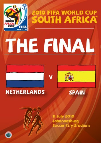 2010 FIFA World Cup South Africa - The Final: Netherlands vs. Spain (World Cup 2010 Match)