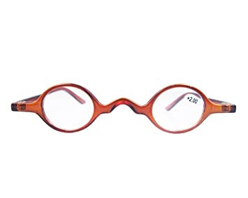 74ad9a0e54 Designer Readers Cute Small round Oval Vintage Reading Glasses Eyeglasses  (+1.75