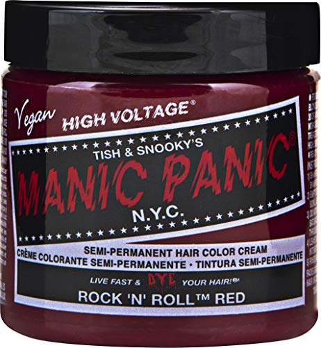 Roll Dye - Manic Panic - Rock N Roll Red Hair Dye, 4 fl oz