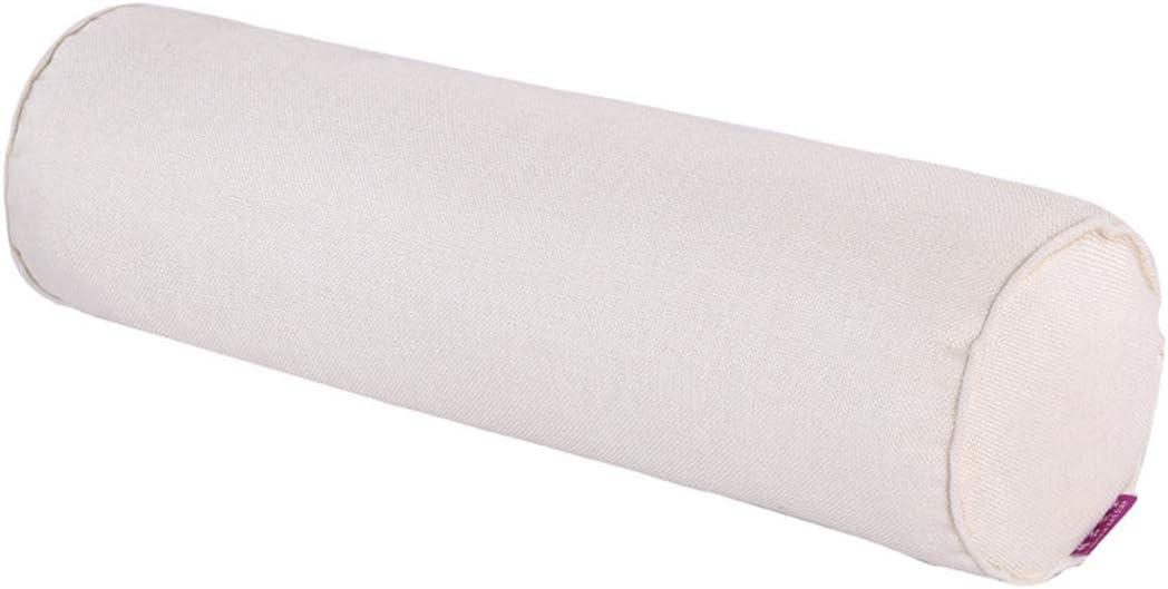 Freahap - Cojín Cervical Almohada Lumbar Cilíndrico, Almohada Cilíndrica para Aliviar Dolor Postural del Cuello y el Hombro