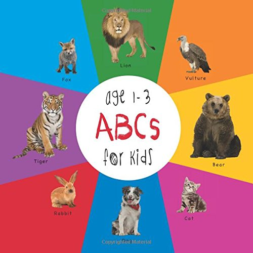 Read Online ABC Animals for Kids age 1-3 (Engage Early Readers: Children's Learning Books) with FREE EBOOK ebook