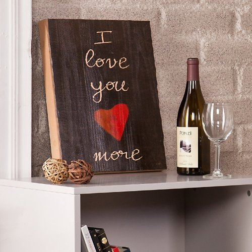 Holly and Martin Swoon Wall Panel, I Love You More