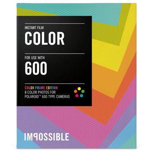 Impossible PRD2959 Color Film for Polaroid 600-Type Camera Frame (Fuji 100c Polaroid Film)
