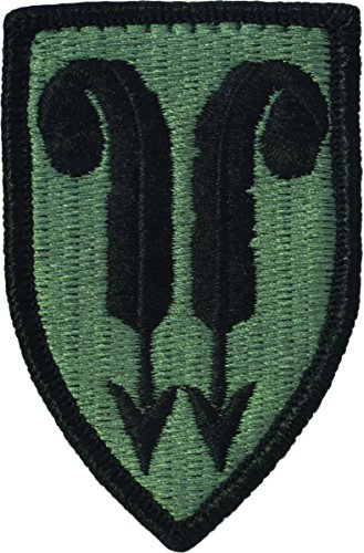 (22nd Support Brigade Patch (ACU with Fastener) )