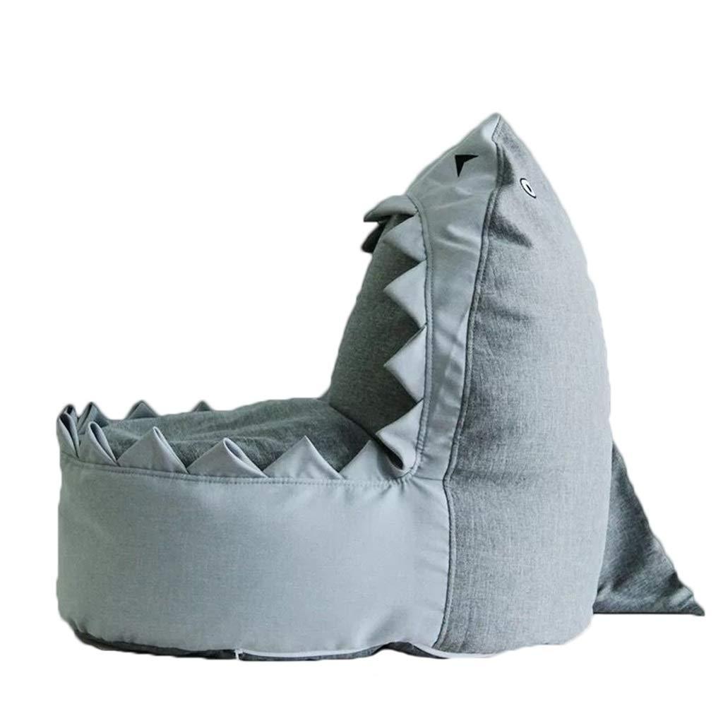 Sac de Haricots - Canapé Lazy Ergonomie EPS Siège Polyvalent Style Nordique Requin Gris Chaise Longue YJchairs