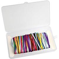 FEPITO Paquete de 18 cintas de raso Paquete de cinta de doble cara Cinta surtida para