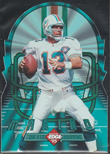 1995 Collector's Edge Dan Marino Dolphins DC Edge Tech Football Card #7