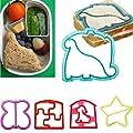 Cutter Mold - Multi Shape Sandwich Toast Bread Cookies Cutter Mold Mould Diy Maker - Organizer Geometric Dress Tree Lips Helmet Knight Kids Cone Triangle Disney Airplane Piece Animals Knife As