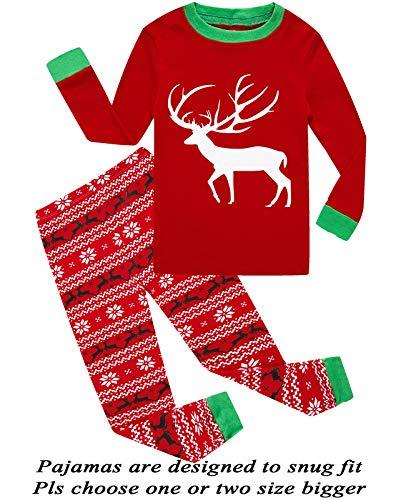 Young Boys Pajamas - Boys Girls Christmas Pajamas Sleepwaer 10T
