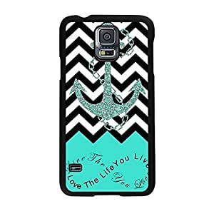 Bessky 2015 Hot Sell Arrival Anchor Quotes Hard Case for Samsung Galaxy S5 I9600 (04A)