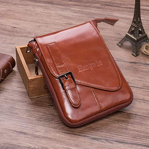 f984eb84e6b1 Hengwin Vertical Phone Belt Clip Holster Case Leather Men - Import ...