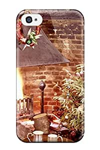 Cute Tpu JeffreySCovey Holiday Christmas Case Cover For Iphone 4/4s